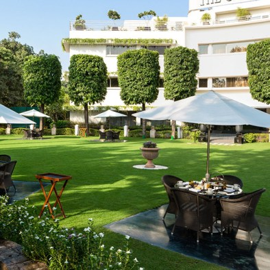Lawns at The Claridges Hotel, New Delhi