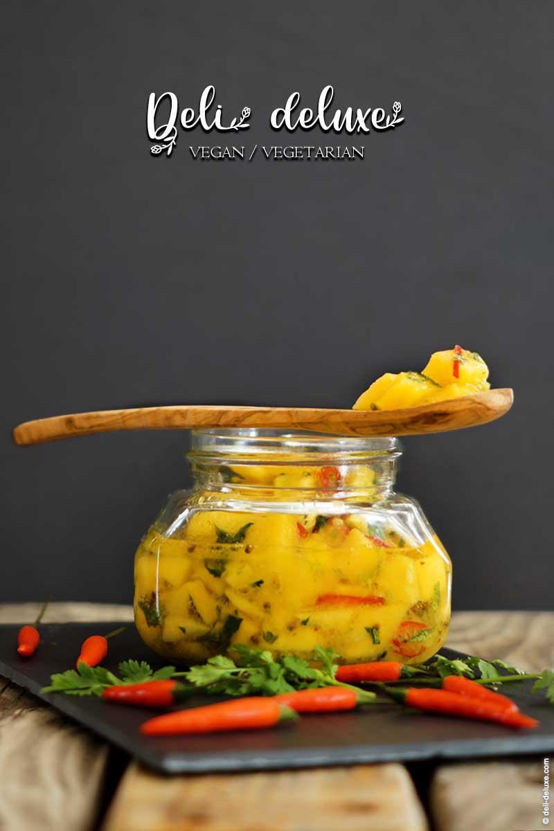 schnelle mango pickles