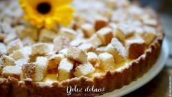 Italienischer einfacher Mimosen-Kuchen