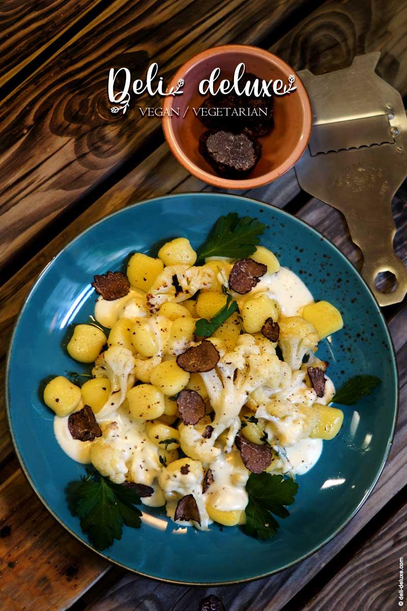 Gnocchi mit Blumenkohl und Thymian-Sauce 🥕