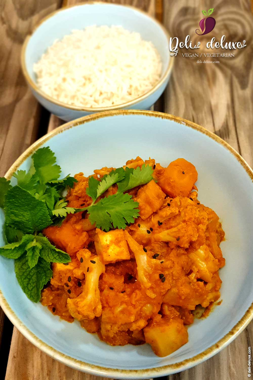 veganes Blumenkohl-Tofu-Korma 🥕🥕