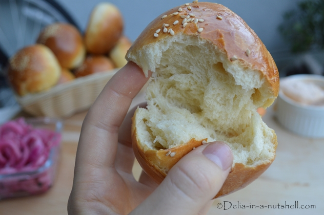 Super soft burger buns/dinner rolls