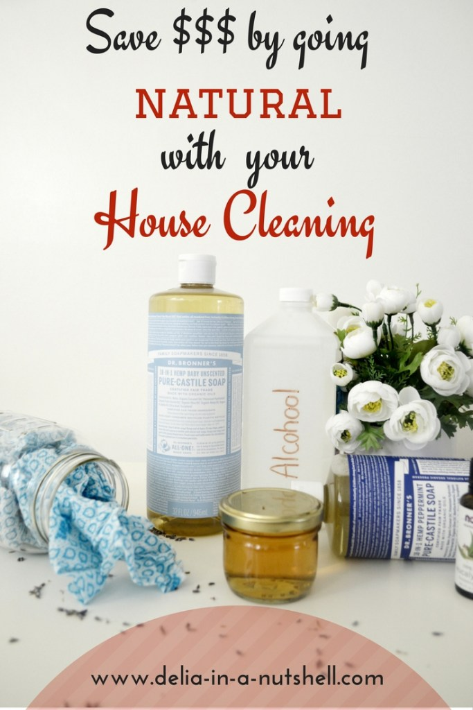 Save big $$ by going natural with your House cleaning