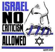 Nekritizujte Izrael!