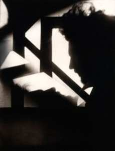 Alvin Langdon Coburn: Vortograph of Ezra Pound