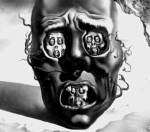 """""""...Tato příšerně cynická společnost ve své naivitě nevidí, kdo jednoduše hraje divadlo a dělá se lepším, aby skryl své šílenství."""" Salvador Dalí"""