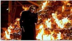 Všechno hoří...