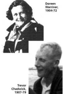 Doreen Warinner Trevor Chadwick