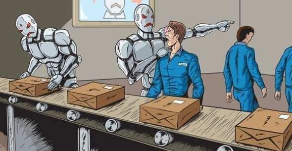 Roboti přicházejí, dělníci odcházejí