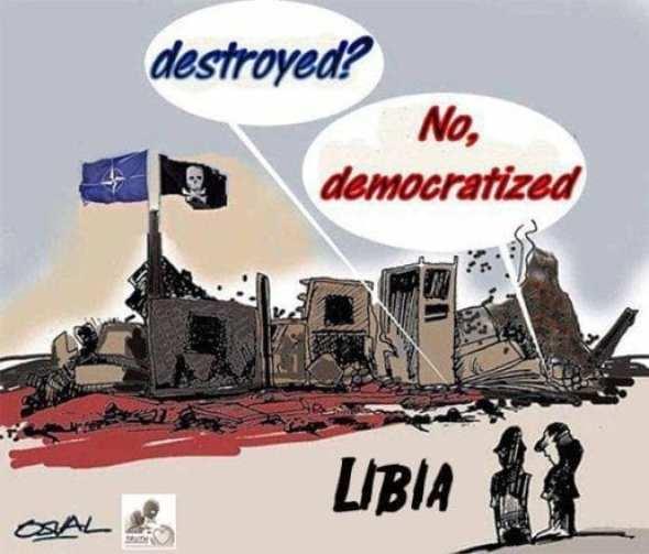 Demokratizace Libye