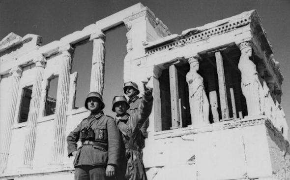 German Soldiers Greece