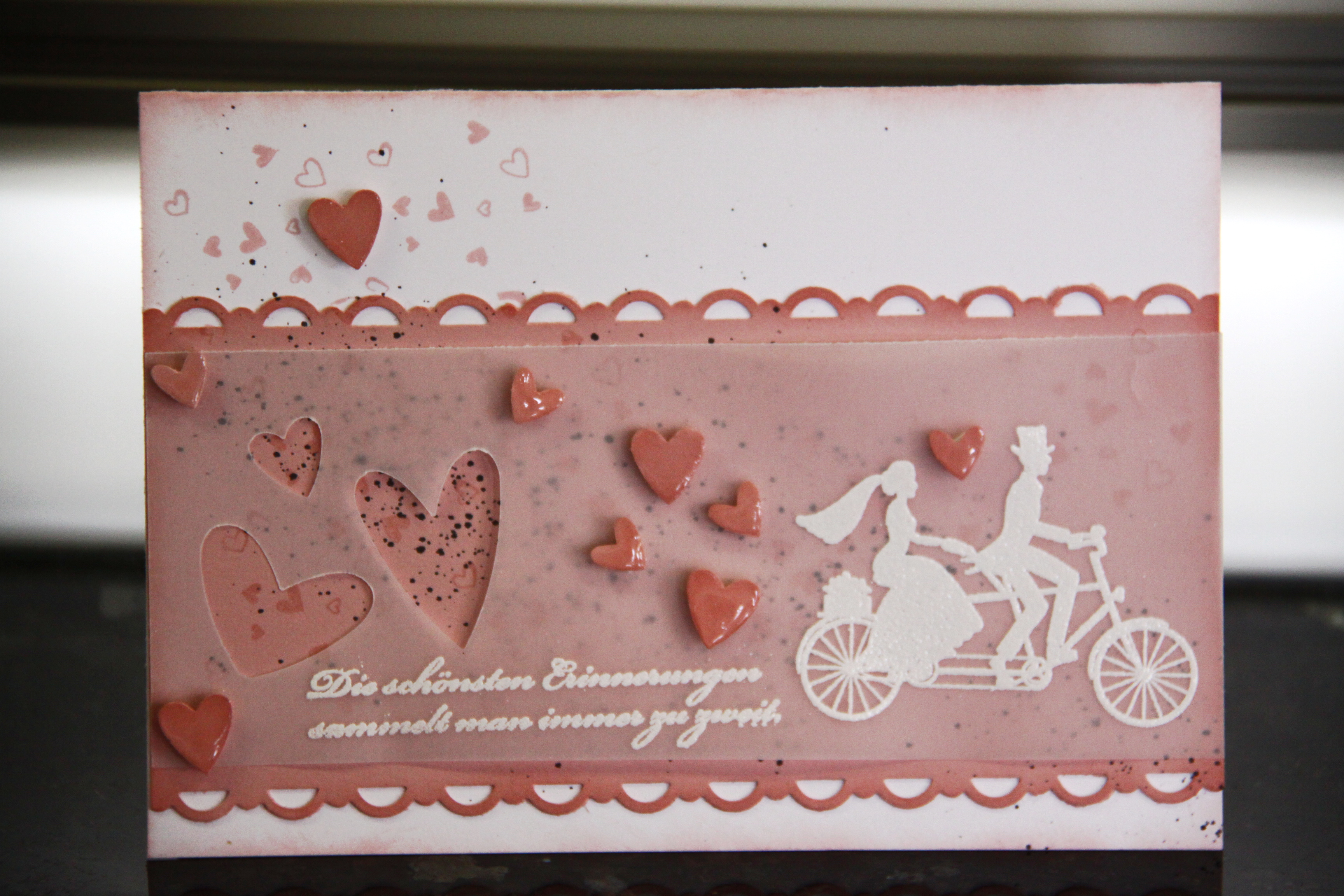 Stampin Up Hochzeitskarten Wedding Wheels Delias Paperworld
