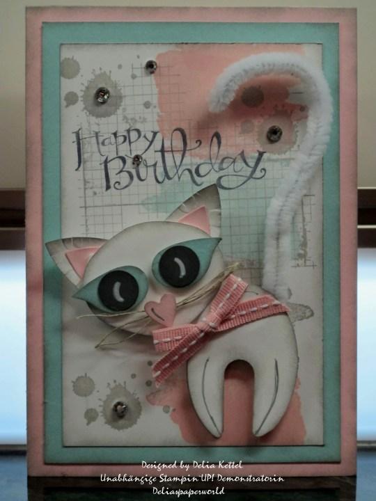 Little Feline card