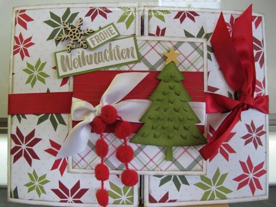 Mini Album Weihnachten Delia Kettel 2