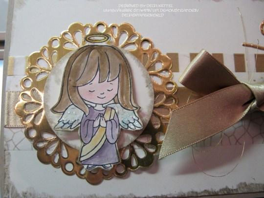 Weihnachtskarte Engel 2