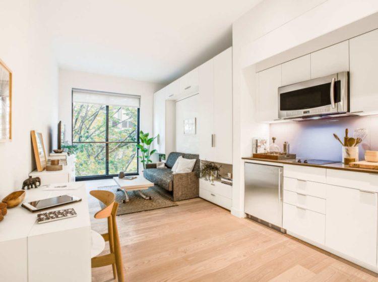 Carmel Place micro apartment