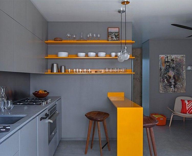 Clean Slate Modern Kitchen