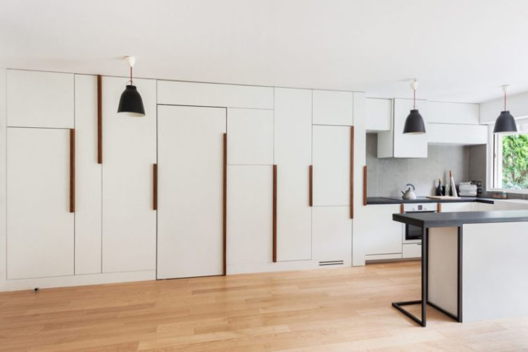 Hidden Storage idea for minimalist apartement