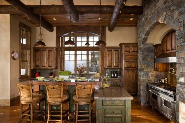 Luxury Rustic Italian Kitchen