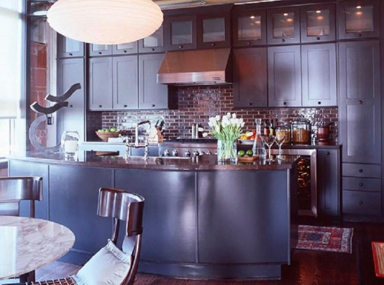 Sleek Loft Kitchen