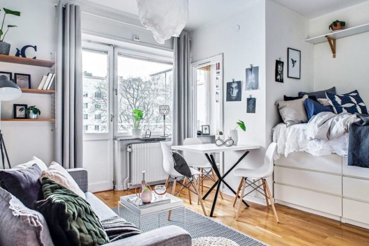 24 Studio Apartment Ideas and Design that Boost Your Comfort