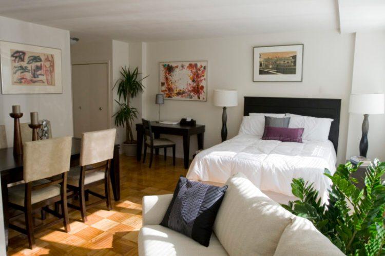 Studio apartments furniture