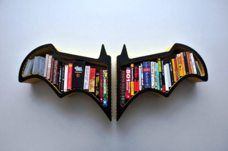 Creative DIY Bookshelf Design