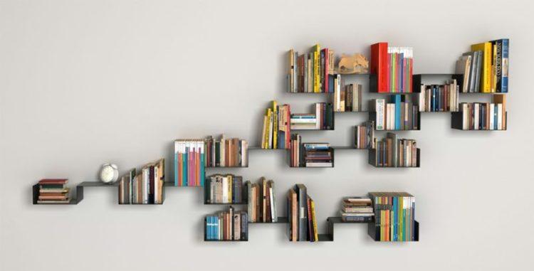 Wall Mount Bookshelf