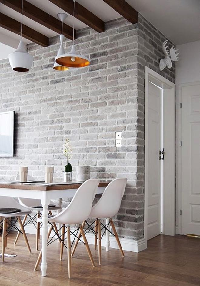 Greyed Brick Wall