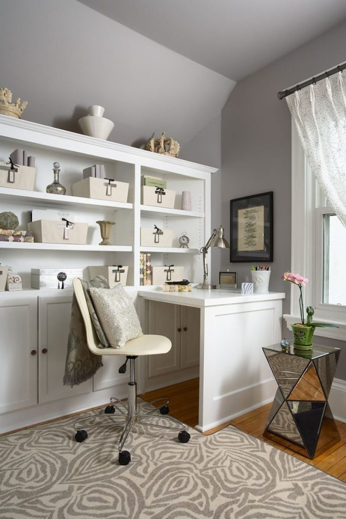 Gray Tone Home Office