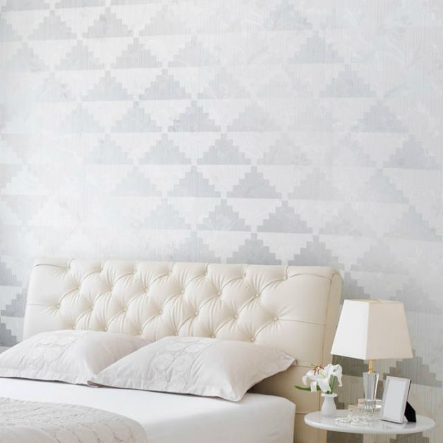 Use a Stencil to Add Color and Pattern to Your Accent Wall