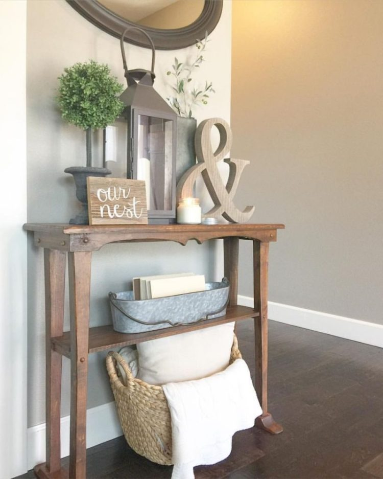 Front Entry Table Ideas