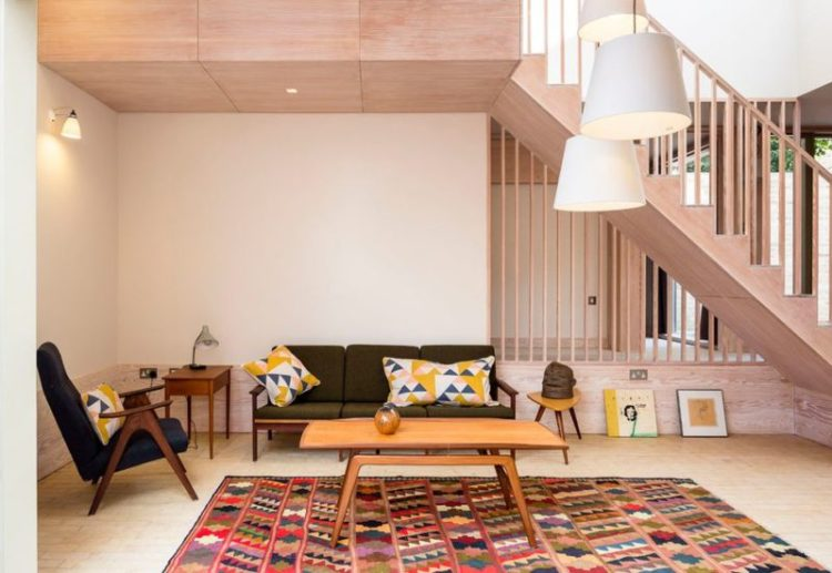Oriental Rugs In Modern Scandinavian Design