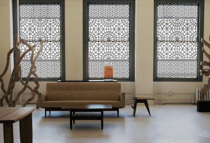 Window Treatment Metal Screens Ideas