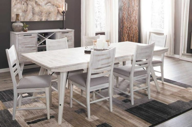 Modern Rustic Trestle Table