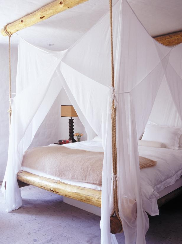 Natural Canopy Bed