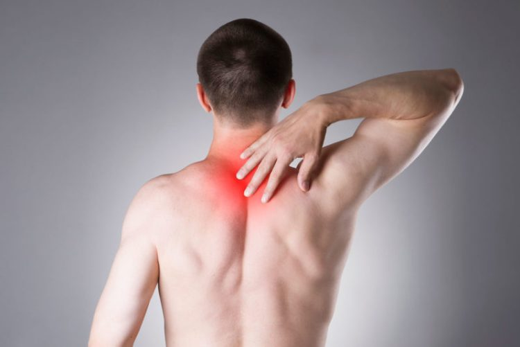 Rhomboid pain - shoulder blade muscle pain treatment