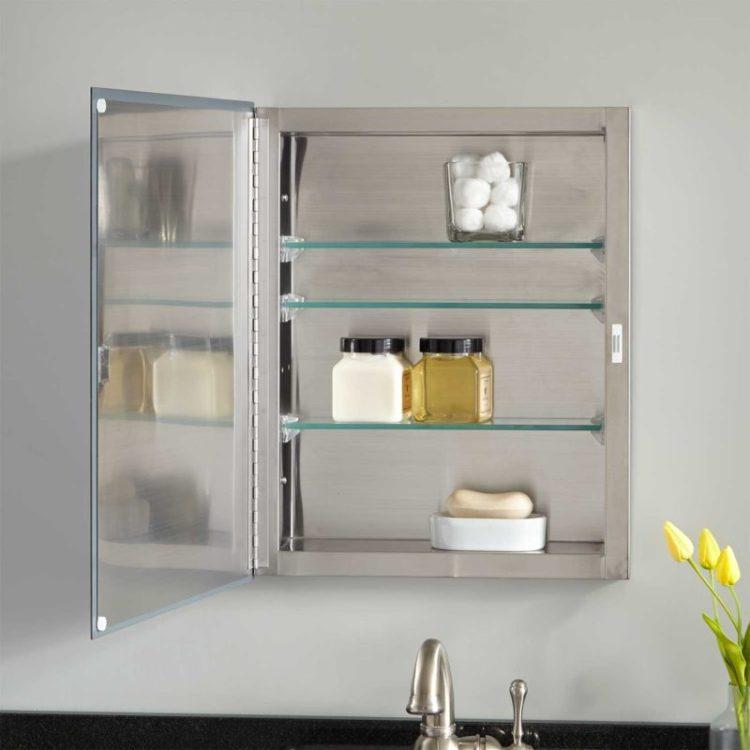 16 inch Wide Recessed Medicine Cabinet