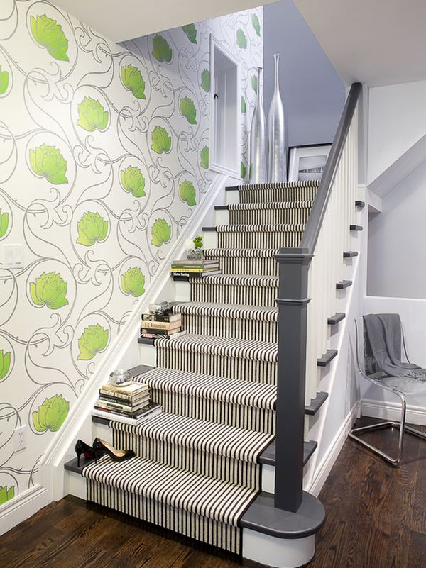 Modern stair carpet