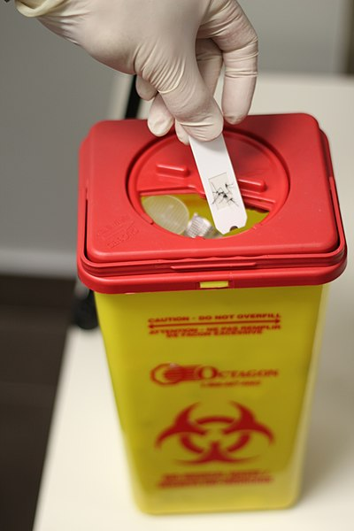 Waste Management Sharps Disposal