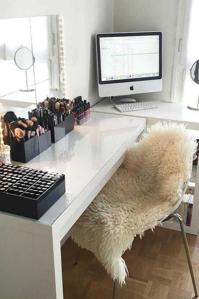makeup desk and workspace ideas