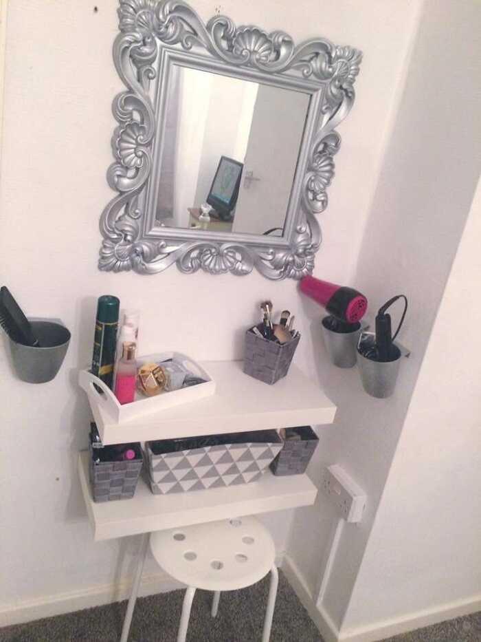 makeup drawer storage table organizer