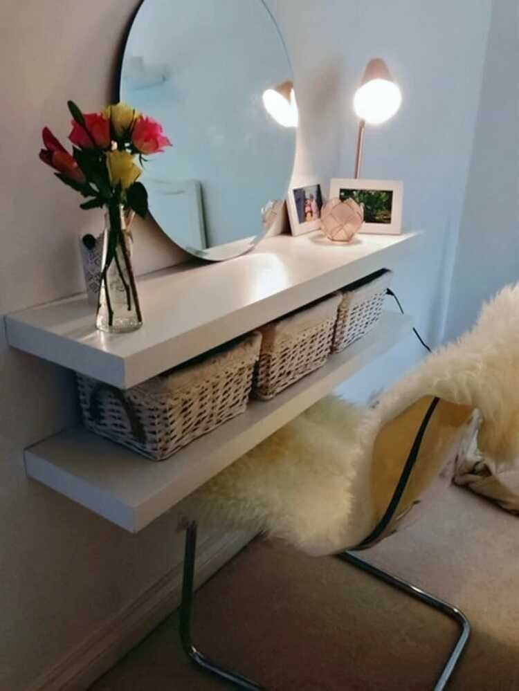 cheap furniture for makeup room ideas