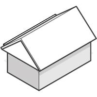 box gable roof