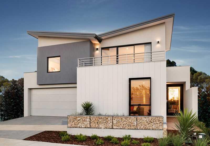 Modern butterfly house