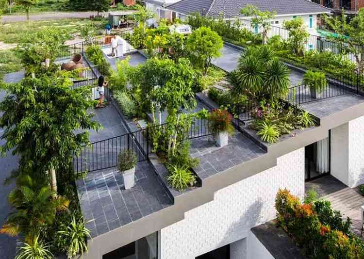 landscape urban roof garden - Terrace Garden Decoration Ideas