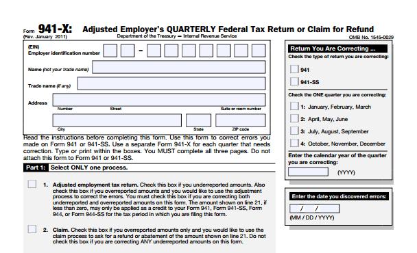 San Diego Tax Attorney IRS form 941