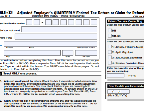 Irs Form 941 X Archives Delia Tax Attorneys