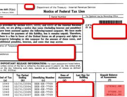 federal Tax lien