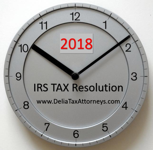 IRS-tax-resolution-2018